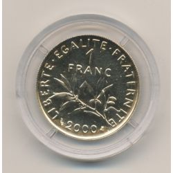 1 franc Or 2000 Semeuse