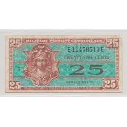 Etats-Unis - 25 cents - ND 1954