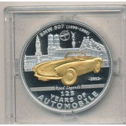 Palau - 5 Dollars 2012 - 125 ans automobile - BMW 507