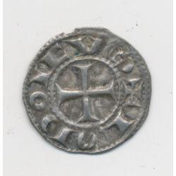 Louis IV d'outremer - Denier argent - Angoulême