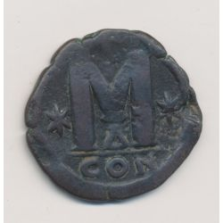 Justin 1er - Follis - Constantinople
