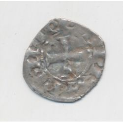 Philippe IV - Denier à l'O rond