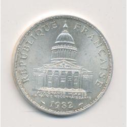 100 Francs Panthéon - 1982 - argent
