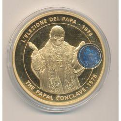 Médaille - Élection papale - Jean Paul II - 1978