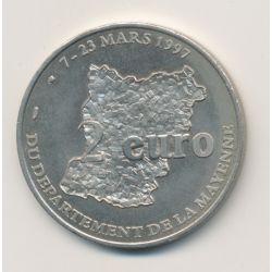 2 Euro de Mayenne - 1997