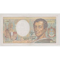 200 Francs Montesquieu - absence taille douce - 869473 - L.028