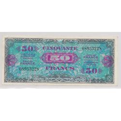 50 Francs Drapeau - 1944 - sans série