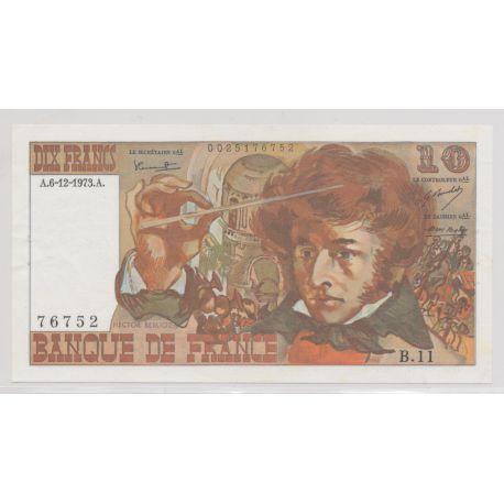 10 Francs Berlioz - 6.12.1973 - B.11 - TTB