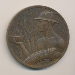Médaille - Inauguration des usines Dunlop - 29 septembre 1922 - bronze