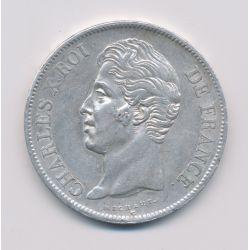 5 Francs Charles X - 1828 H La Rochelle