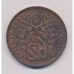 Vatican - 5 Baiocchi - 1854 VIII R - Pius IX