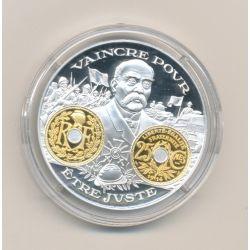 Médaille  - 25 centimes Lindauer 1914 - 2000 ans d'histoire monétaire Français