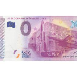 Billet Le blockhaus d'Éperlecques 2015