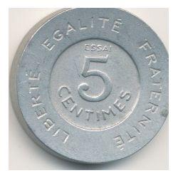 5 Centimes 1909 Rude