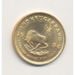 Afrique du sud - 1/10 Krugerand 1984