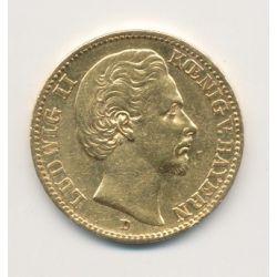 Allemagne - 20 Marks 1872 D