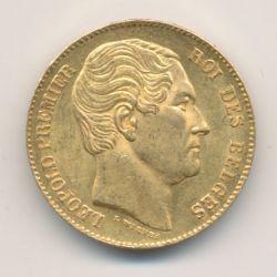 Belgique - 20 Francs 1865 - Léopold I