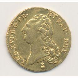 Louis XVI - Double louis d'or buste nu - 1786 AA