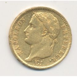 Napoléon empereur - 20 Francs Or - 1808 A Paris