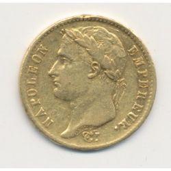 Napoléon empereur - 20 Francs Or - 1808 M Toulouse