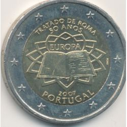 2€ Portugal - Traité de Rome
