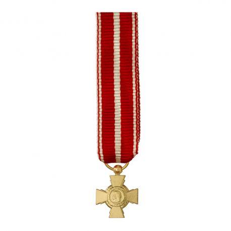 Croix de la valeur militaire - Taille réduction