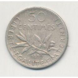 50 Centimes Semeuse - 1899