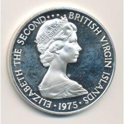 British virgin islands - 1 Dollar - 1975
