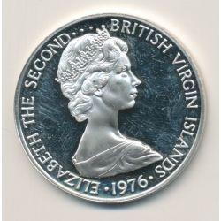British virgin islands - 1 Dollar - 1976