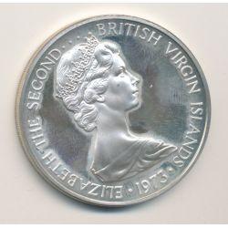 British virgin islands - 1 Dollar - 1973