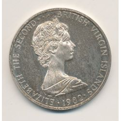British virgin islands - 5 Dollars - 1982