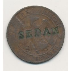 Monnaie satirique - 10 centimes 1856B - Sedan