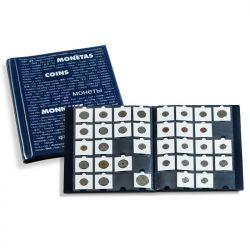 Album pour 200 monnaies sous étuis cartons
