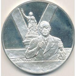 Médaille Hommage De Gaulle - Référendum - 1958