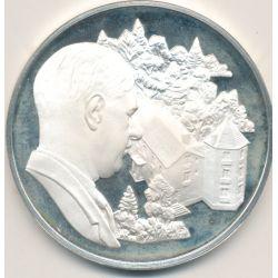 Médaille Hommage De Gaulle - La boiserie 1946 - 1958