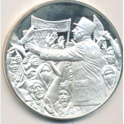 Médaille Hommage De Gaulle - L'Algérie