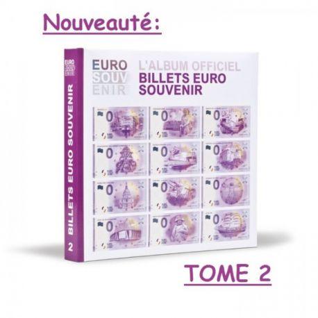 Album Billets Touristiques Tome 2 2016 + Billet Spécimen