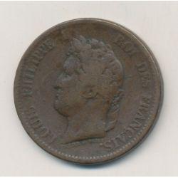 Ile marquise - 5 centimes - 1844 A Paris