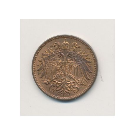 Autriche - 2 Heller - 1914