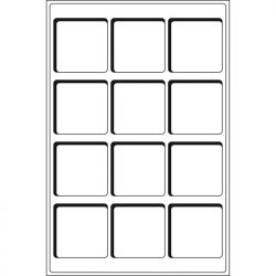 Plateaux TAB 12 Cases 66x66mm