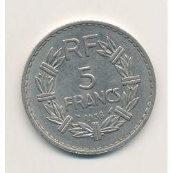 5 Francs Lavrillier - 1938