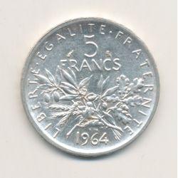 5 Francs Semeuse - 1964
