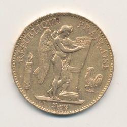100 Francs Or - Génie - 1907 A Paris