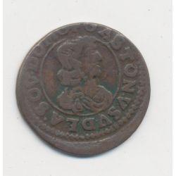 Gaston d'Orléans - Double Tournoi 1641 - Principauté de Dombes