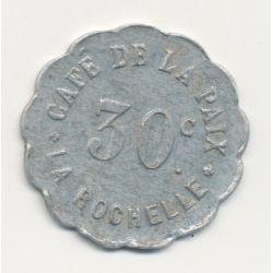 Dept17 - La Rochelle - 30 centimes - café de la paix