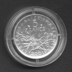 5 francs Semeuse 2001