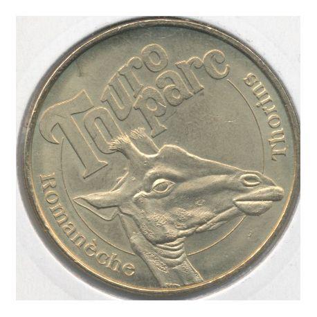 Dept71 - Touro parc N°1 - 2008 - la girafe - Romaneche Thorins