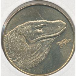 Dept71 - Touro parc N°2 - 2012 - varan de komodo - Romaneche Thorins