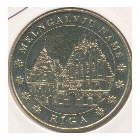 Lettonie - melngalvju nams - 2007 - Riga