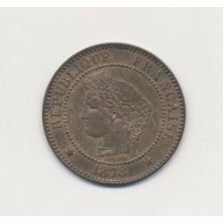 2 centimes Cérès - 1878 A Paris